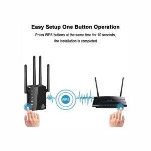 WiFi Range Extender – 1200Mbps WiFi