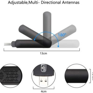 USB WiFi Adapter 1200Mbps Wireless